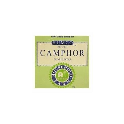Humco Camphor Gum Block (Synthetic) 1 oz.
