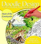 Doodle Design - Heart of the Countryside - Colouring Book  *FREE P&P*