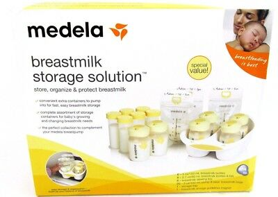 Medela Breastmilk Storage Solution Kit BPA FREE Set High Quality Bags Bottles