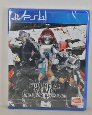 NEW PS4 Full Metal Panic! Who Dares Wins (Asian ENGLISH Version)-Dispatch NOW!