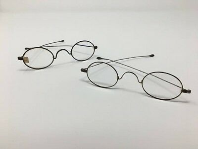 WIRED METAL GLASSES Frames - Antique Vintage Steampunk Accessories ...