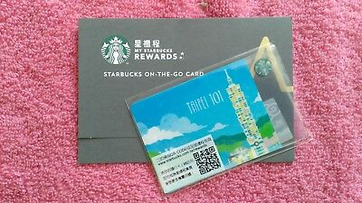 Starbucks Taiwan BRAND NEW! TAIPEI Version 2 Gift Card w/Core Sleeve US Seller