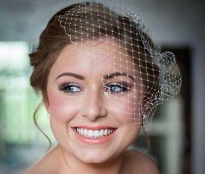 Beautiful Bridal Lily Bella Classic Mini Ivory Birdcage Veil - Over 10,000 Sold