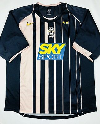 7d64e6864 Nike JUVENTUS 2004 05 XL Away Soccer Jersey Football Shirt Maglia Italy  Calcio
