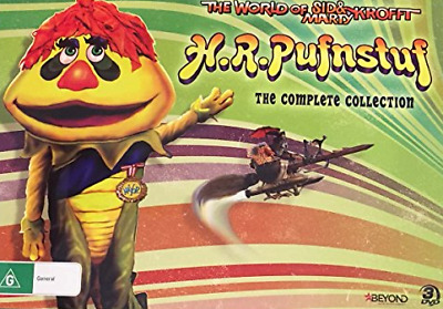 H.R. PUFNSTUF: The COMPLETE Collection 3-DVDs 2018 BRAND NEW RELEASE GIFT BOX R4