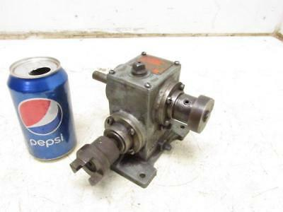 Boston Gears Model AT13 Gear Box Transmission Speed Reducer Gearbox 5:1 Ratio