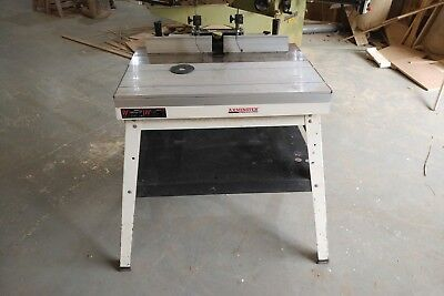 Axminster whrp router table 18500 picclick uk axminster whrp router table keyboard keysfo Image collections