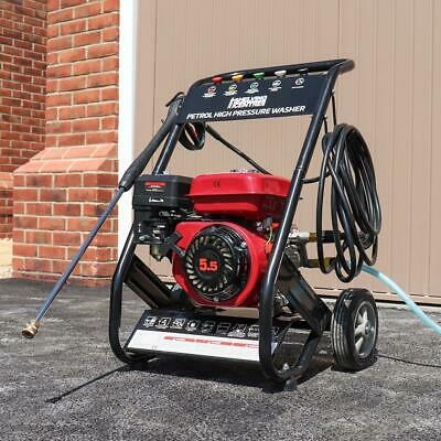 Mobile Petrol Powered High Power Pressure Jet Washer Engine Max 2500Psi Wido