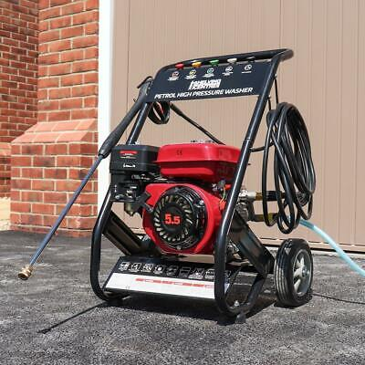 Wido MOBILE PETROL POWERED HIGH POWER PRESSURE JET WASHER ENGINE MAX 2500PSI