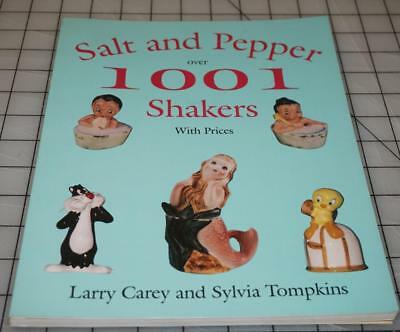 Autographed Salt and Pepper over 1001 Shakers by Larry Carey and Sylvia Tompkins