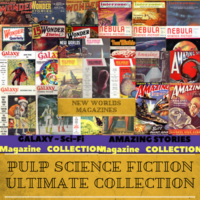 Pulp Science Fiction Ultimate Collection - 2,719 Magazines on 1 USB Memory Stick