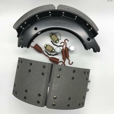 Bangding 4707-A005 Lined Brake Shoe and accessories 4707 Set 16-1/2'' x 7''bangd