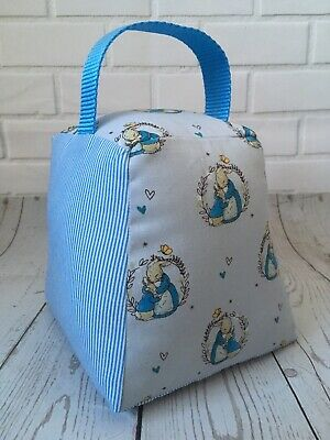 Peter Rabbit Doorstop - Handmade With Love. Nursery Or Baby Shower Gift