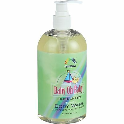 Rainbow Research Baby Oh Baby Herbal Body Wash - Unscented - 16 oz