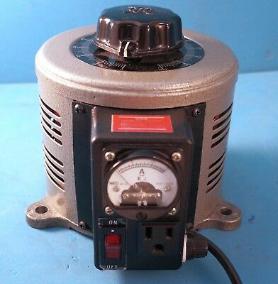 Tenma 72-110 Variable Transformer Bench 130VAC 10A with Built-in Ammeter