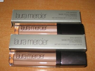 New boxed Laura Mercier eye basics  Buff .18 oz  X2 eye shadow primer