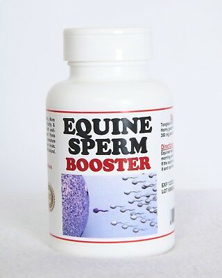 EQUINE SPERM BOOSTER (120 Capsules - Made in USA)