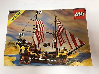 Lego Instructions Booklet Manual 6285 Black Seas Barracuda Pirate