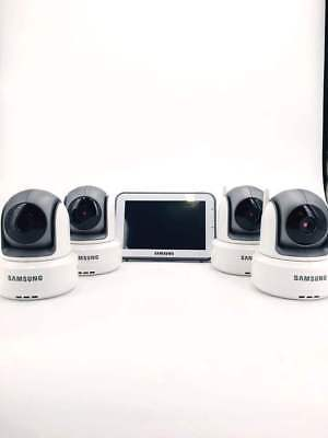 Samsung SEW-3043WN Wireless Touch Screen 1 Baby Monitor with 4 Cameras