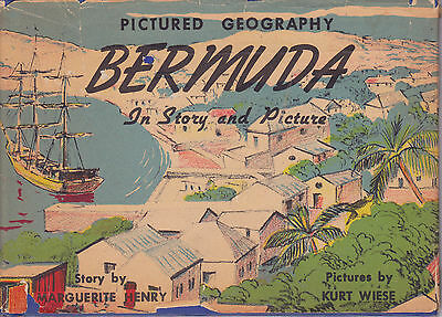 1946 BERMUDA Book In Story and Pictures by Marguerite Henry Kurt Wiese
