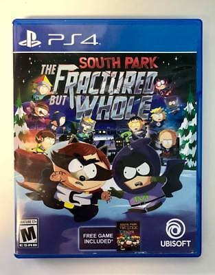 South Park The Fractured But Whole Sony PlayStation 4 PS4 CIB Tested Mint