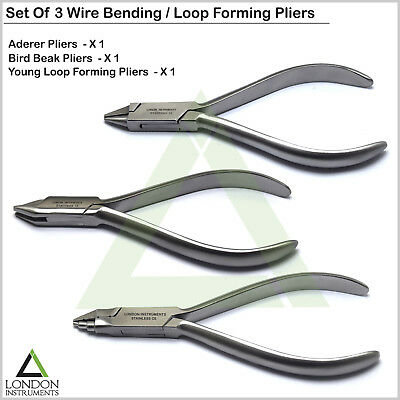 Dental Young Loop Bending Forming Pliers Arch-wire Aderer Contouring Orthodontic