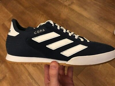 BRAND NEW ADIDAS Copa Super Suede Trainers Navy Clear Blue ...