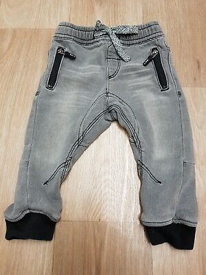 Next Boys jean look trousers age 12 to 18 months excellent condition