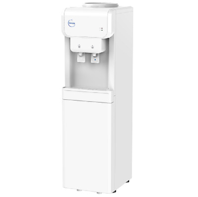 White Bottle Water Cooler Dispenser Tower Cool /Chilled