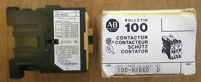 100-NX66D Allen Bradley contactors  (2 available) NEW