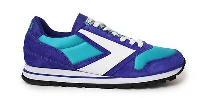 a9a55edd887 Brooks Heritage Mens Chariot Running Shoes Size 11 Turquiose Purple White  NWT