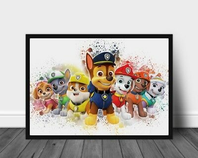 "Skye Poster Paw Patrol TV Series Art Nursery Print Kids Room Decor 33x47/"" W255"