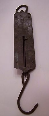 Old Hanging Fish Scale to 25 Lb. Vintage Item Uncleaned CHATILLON's IMPROVED