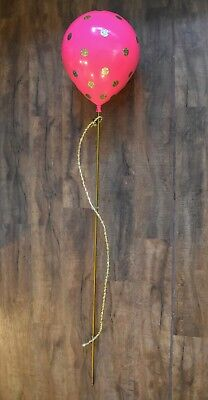 Victorias Secret Pink Balloon with Gold Polka Dots Display Prop