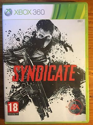 SYNDICATE Microsoft Xbox 360 Game + Booklet PAL