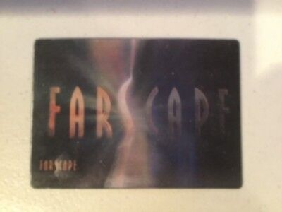 Henson WB Farscape In Motion Promo Lenticular Holographic Trading Card #PM1