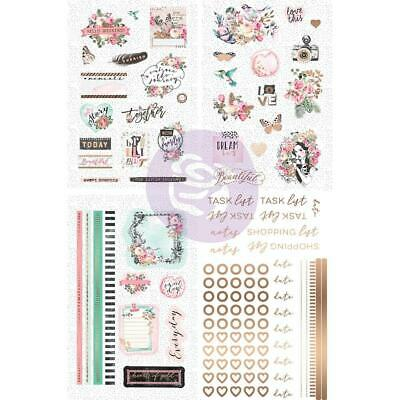 Prima Marketing - Havana Rose Planner Stickers 114 stickers Gold foil accents