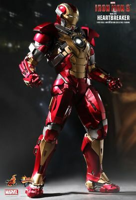 Hot Toys 1/6 Marvel Iron Man 3 Mms212 Mk17 Mark Xvii Heartbreaker Action Figure