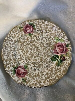 Queen Anne Side Plate  In Ex To Vg Cond. No Cracks Or Chips