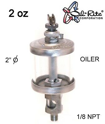 Oil Rite 2 oz oiler 1/8 NPT new old stock