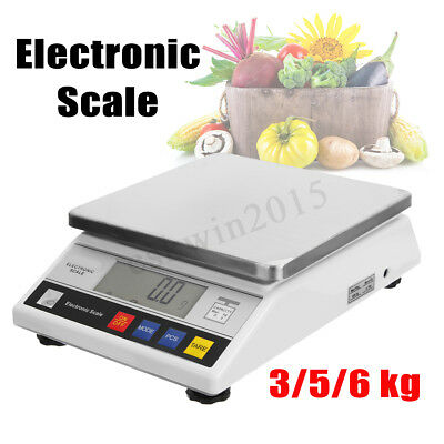3/5/6kg 0.1g Digital Electronic Food Balance Scale Lab Weight counting Scale