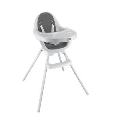 Mothers Choice Egg 3-in-1 Highchair - White/Grey