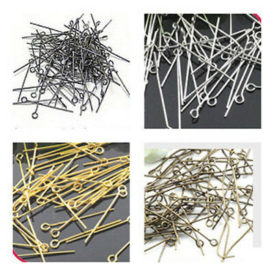 """9"" Shape Eye Pin Head Pins DIY Accessories Craft For Jewelry Making"