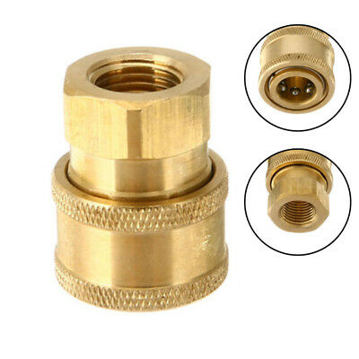 1/4'' Quick Release Pressure Washer Hose Adaptor Connector Plug To BSP1/4 Female