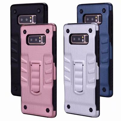 Hybrid Shockproof Armor Back Stand Case Cover for Samsung Galaxy S8 Plus Note 8