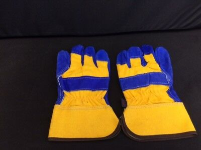 Gloves -  Riggers - Pack Of 6 - Leather/Cotton Gloves