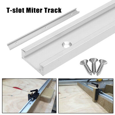 T-track T-slot Miter Track Jig Fixture Slot for Router Table Woodworking Tool