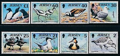 1998 JERSEY SEA BIRDS & WADERS (2p-£1) PART 2 SET OF 8 FINE MINT MNH