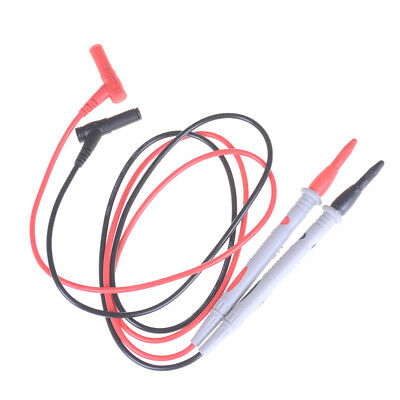 2X/Set Needle Tipped Tip Multimeter Probes Test Leads Tester 1000V 10A Cable IU