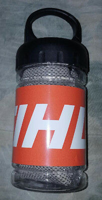STIHL®  sports/work/workout/outdoors cooling towel with bottle NEW ITEM!